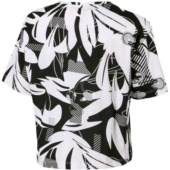 Mädchen Sport Shirt mit Allover-Print