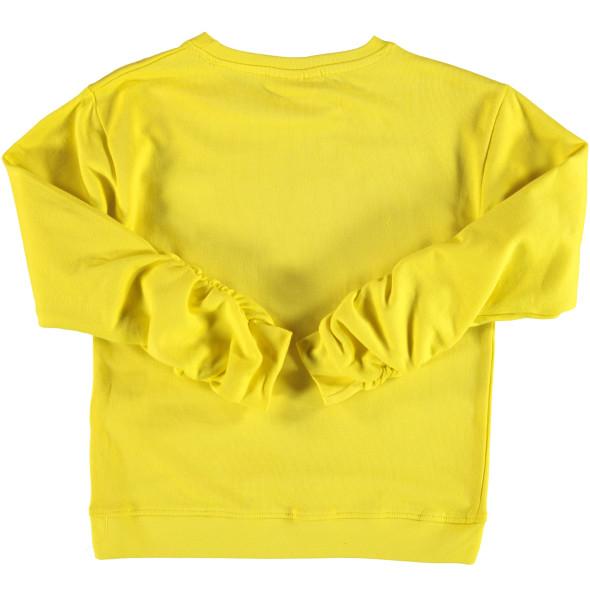 Mädchen Sweatshirt mit Pailletten Print