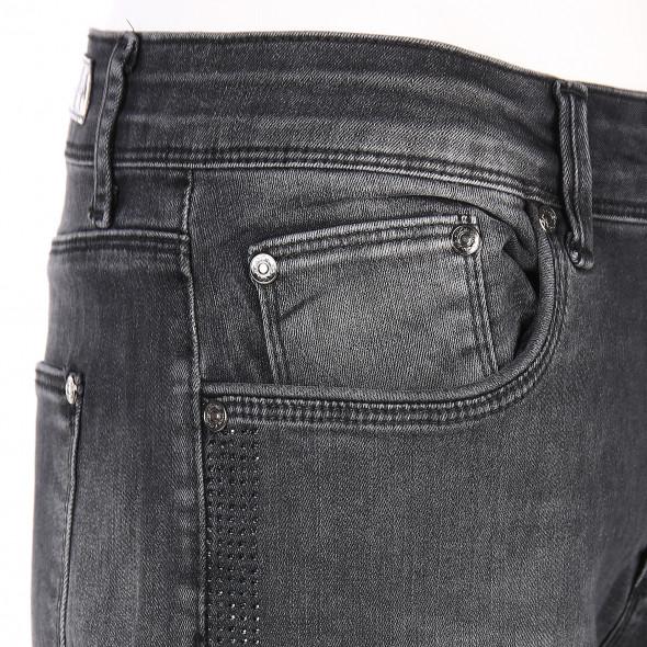 """Damen Denim Jeans mit Strassstreifen Slim Fit """" Hanna"""""""