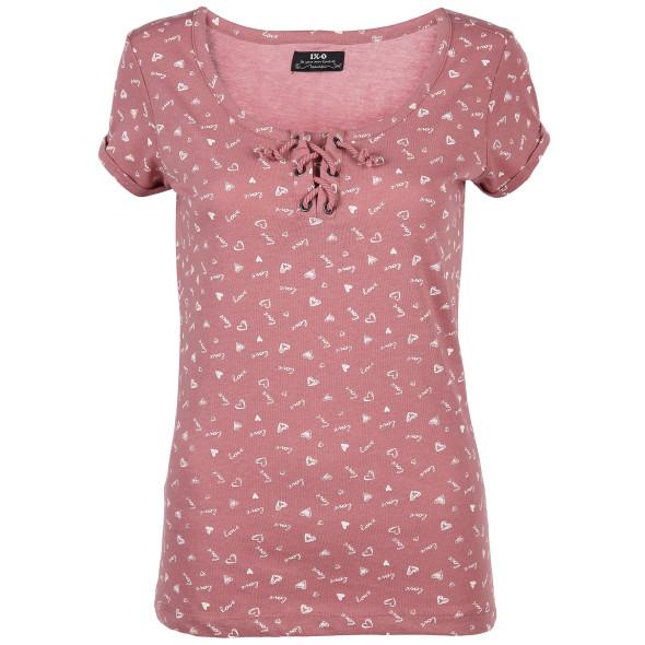 Damen T-Shirt mit Minimalprint