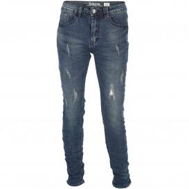 Herren Jeans mit Abnutzungsdetails