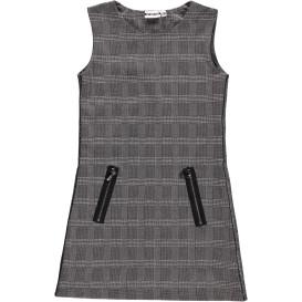 Mädchen Kleid im Glencheck Muster