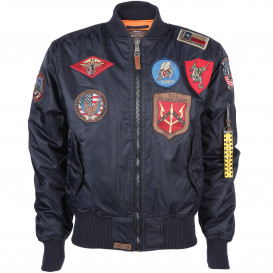 Top Gun Herren Blouson mit Batches