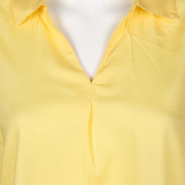 Damen Schlupfbluse mit 3/4 langem Arm