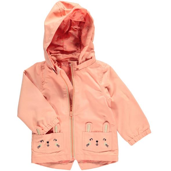 Mädchen Jacke mit bestickten Taschen