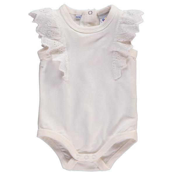 Baby Mädchen Body mit Spitze