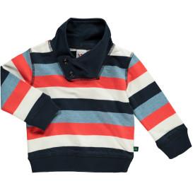 Baby Sweatshirt im Streifenlook