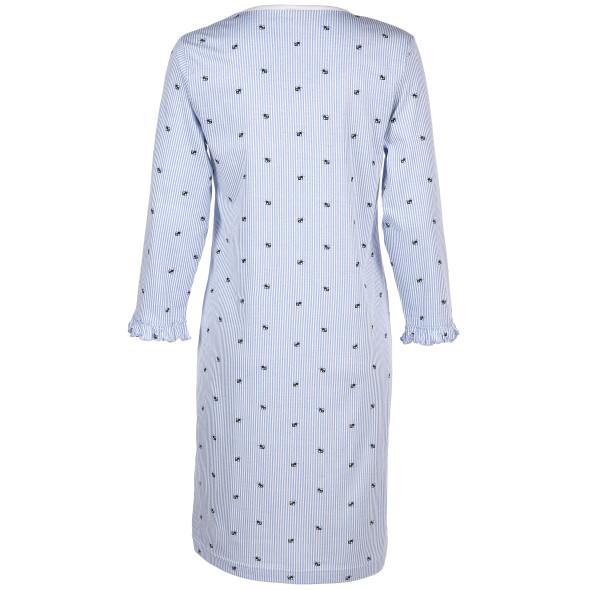Damen Nachthemd im Streifenlook