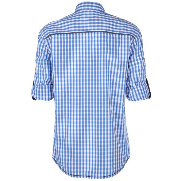 Herren Trachtenhemd in karierter Optik