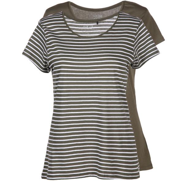 Damen Shirts im 2er Pack mit kurzem Arm
