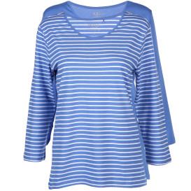 Damen Shirts im 2er Pack mit 3/4 langem Arm