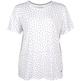 Große Größen Shirt mit Blümchen
