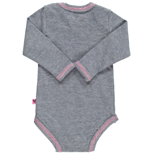 Baby Mädchen Body mit Glitzer Print