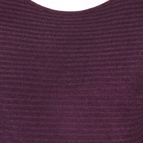 Damen Pullover mit Ripp-Struktur
