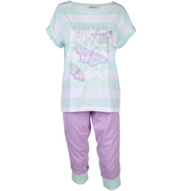 Damen Pyjama Set in Capri Länge