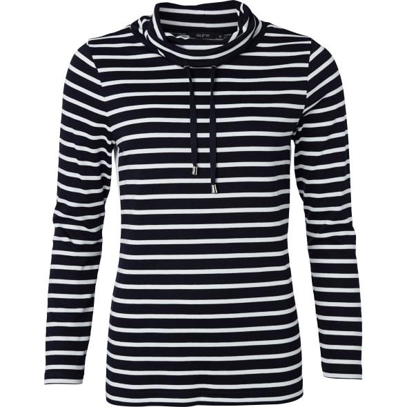 Damen Sweatshirt mit Stehkragen