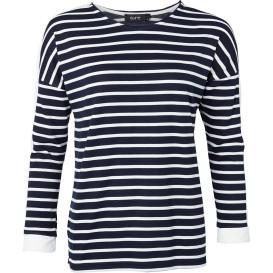 Geringeltes Damen Sweatshirt