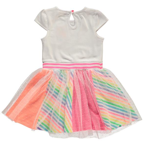 Mädchen Kleid in Regenbogenoptik