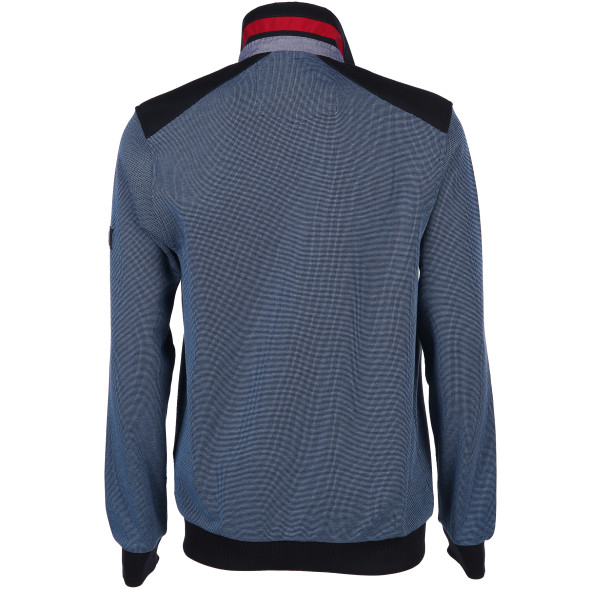 Herren Cardigan in melierter Optik