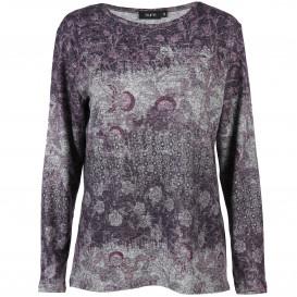 Damen Shirt in effektvollem Allover Print