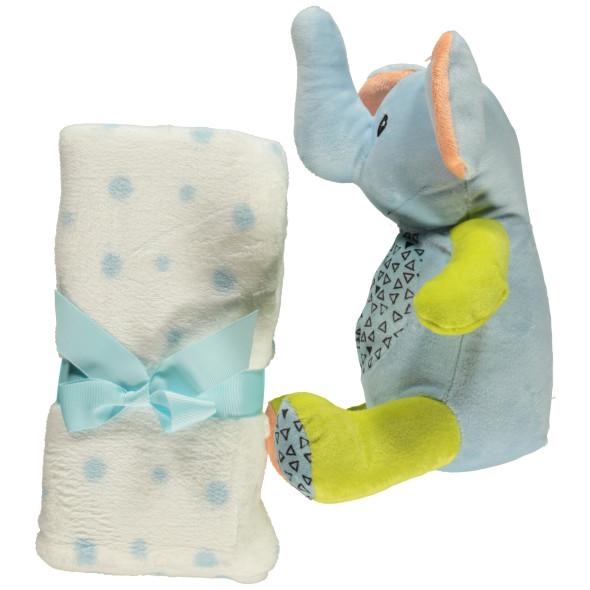 """Baby Krabbeldeck mit Kuscheltier """"Elefant"""""""