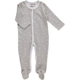 Baby Langarm Pyjama im Sternchenprint