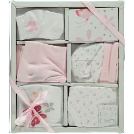 Baby Mädchen Geschenkbox 6tlg.