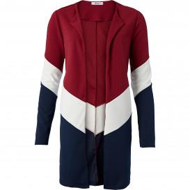 Damen Cardigan im Colourblocking-Design