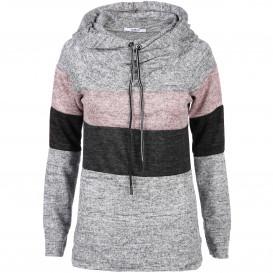 Damen Sweatshirt im Colorblocking