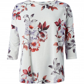 Damen Bluse mit floralen Motiven