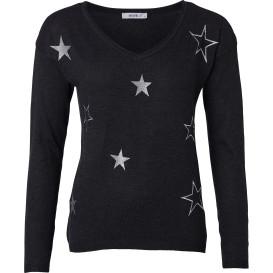 Eleganter Damen Pullover mit Sternen
