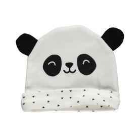 Baby Mütze mit Panda Print