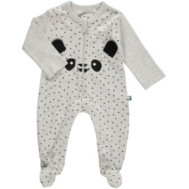 Baby Schlafoverall mit Panda Print
