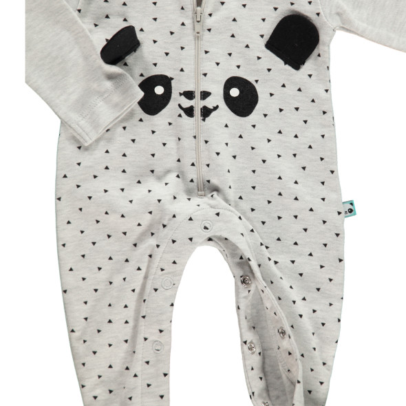 Baby Schlafoverall mit Panda Print