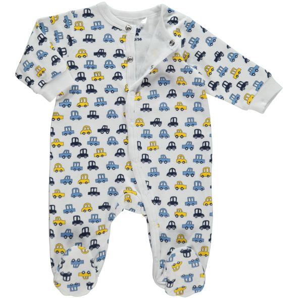 Baby Jungen Pyjama mit Füßchen
