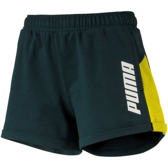 Damen Short mit Logoprint