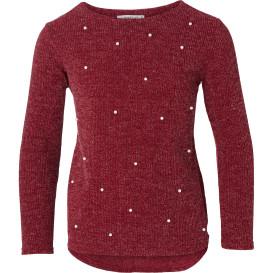 Mädchen Pullover mit Perlen