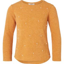 Mädchen Pullover mit Zierperlen