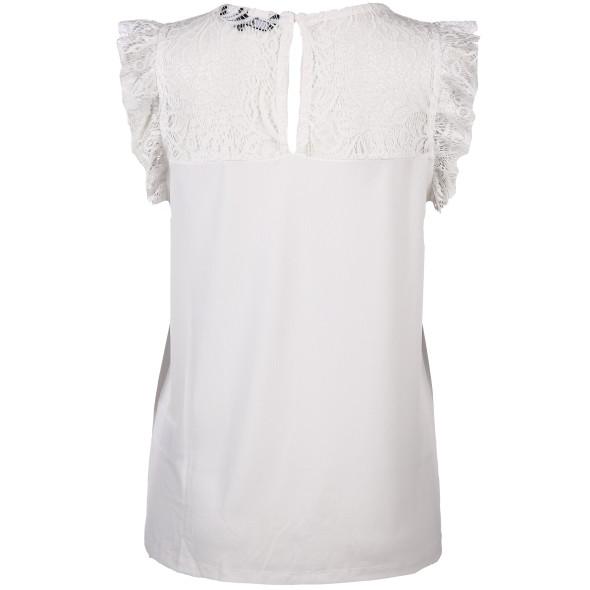 Vero Moda  VMALBERTA SWEETHEART Spitzenshirt