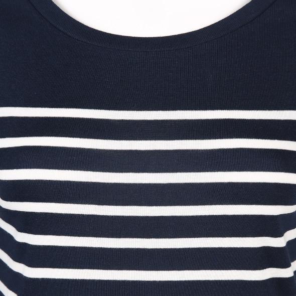 Damen Shirt in gestreifter Optik