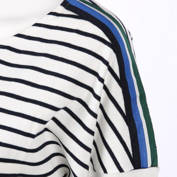 Damen Shirt im Streifenlook mit 3/4 Arm