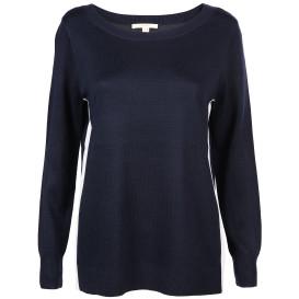 Damen Pullover mit seitlichem Streifen