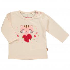 Baby Mädchen Shirt mit witzigem Motiv