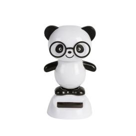 Solar Wackel Panda 10cm hoch