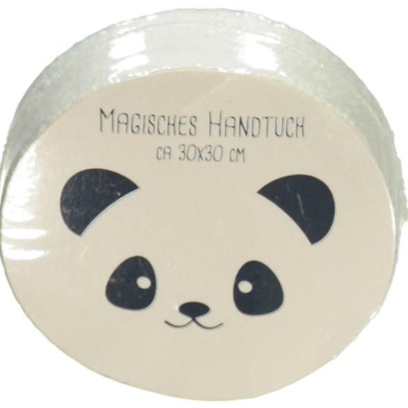 Handtuch Panda 30x30cm