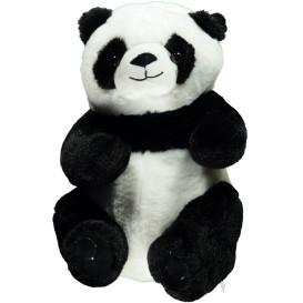 Panda Bär aus weichem Plüsch 30cm hoch
