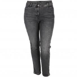 Große Größen Jeans mit seitlichem Zierstreifen
