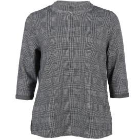 Große Größen Pullover im Glencheck Style