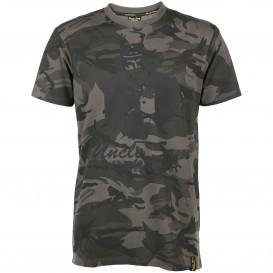 Herren Shirt im Camouflage Look