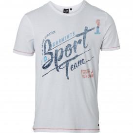 Herren T-Shirt mit Used-Aufdruck